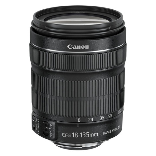 Объектив CANON 18-135mm f/3.5-5.6 EF-S IS STM, Canon EF-S, черный [6097b005] объектив canon ef 50 mm f 1 8 stm