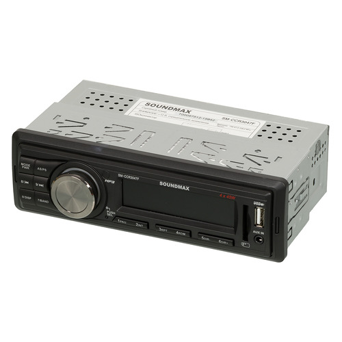 Фото - Автомагнитола SOUNDMAX SM-CCR3047F автомагнитола soundmax sm ccr3047f usb mp3 fm rds sd mmc 1din 4x45вт черный