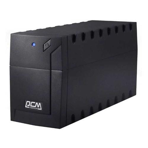 Фото - ИБП POWERCOM RPT-1000AP EURO USB, 1000ВA ибп 3cott 400 cml compact line 400va 240w 2 euro