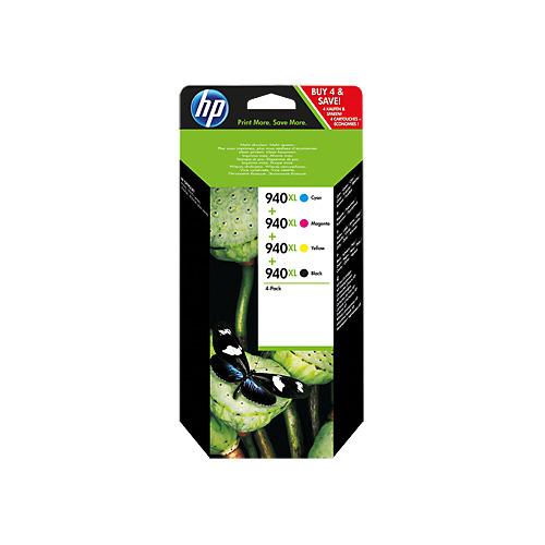 Картридж HP 940XL, голубой / пурпурный / желтый / черный [c2n93ae] картридж hp 305a голубой пурпурный желтый для лазерного принтера