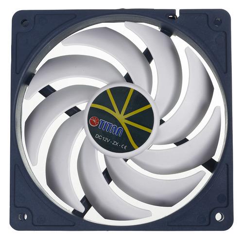 Вентилятор TITAN TFD-12025H12ZP/KE(RB), 120мм, Ret вентилятор titan tfd c802512z tc rb 80x80x25 3pin 21 34db 1500 3300rpm 100g термодатчик