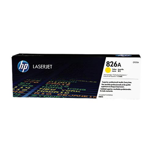 Картридж HP 826A, желтый [cf312a] цена