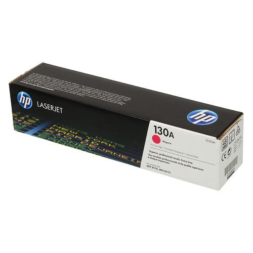 Картридж HP 130A, пурпурный [cf353a] картридж hp cf351a для laserjet pro m153 m176 m177 голубой 1000 страниц 130a