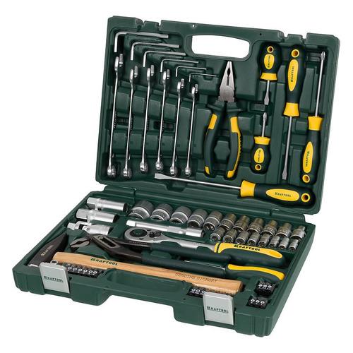 цена на Набор инструментов KRAFTOOL 27976-H66, 66 предметов