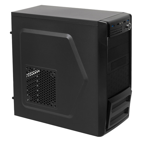 Корпус ATX ACCORD P-46B, Mini-Tower, без БП, черный корпус accord p 25b black