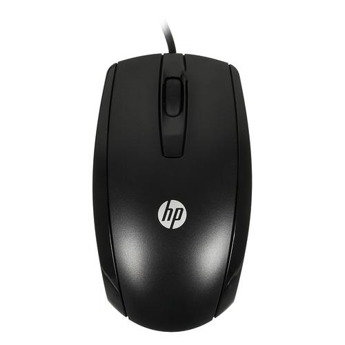 Мышь HP X500, оптическая, проводная, USB, черный [e5e76aa] цена и фото