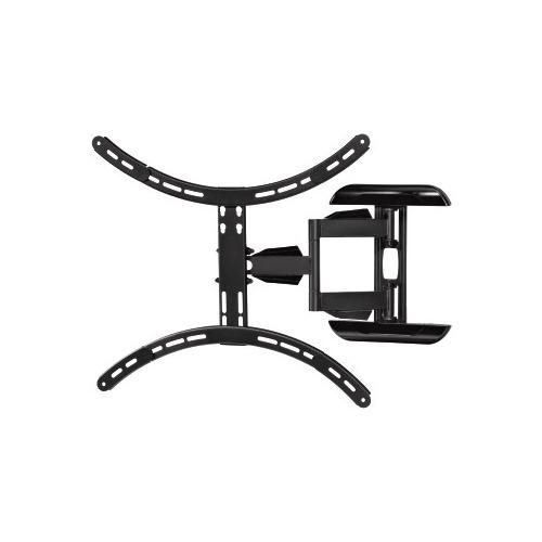 Фото - Кронштейн для телевизора HAMA Fullmotion H-118620, 37-65, настенный, поворот и наклон кронштейн для телевизора hama fullmotion h 118631 черный 37 65 макс 35кг настенный поворот и наклон
