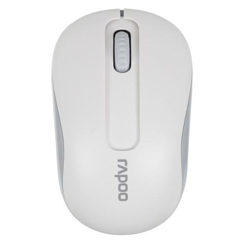 цены Мышь RAPOO M10, оптическая, беспроводная, USB, белый [10926]
