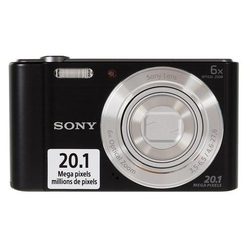 Цифровой фотоаппарат SONY Cyber-shot DSC-W810, черный  - купить со скидкой