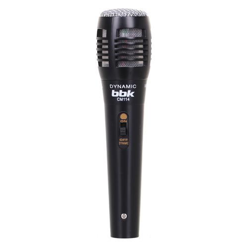 Микрофон BBK CM114, черный [cm114 (b)] bbk dvp030s черный