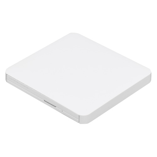 цена на Оптический привод DVD-RW LG GP50NW41, внешний, USB, белый, Ret
