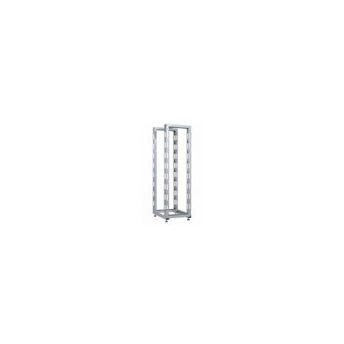 Стойка двухрамная ЦМО (СТК-С-33.2.750) 33U 560ммX1035мм направл.закл.гайки 320кг серый