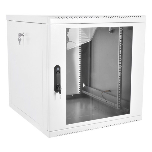 Шкаф коммутационный ЦМО (ШРН-М-15.500) 15U 600x520мм пер.дв.стекл 50кг серый