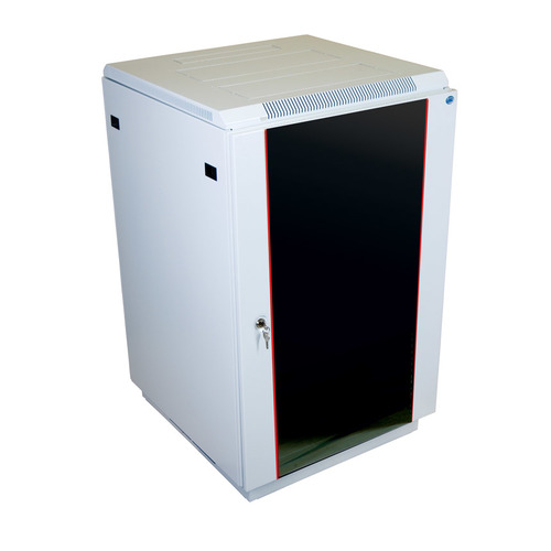 Шкаф коммутационный ЦМО (ШТК-М-27.6.8-1ААА) 27U 600x820мм пер.дв.стекл задн.дв.стал.лист 2 бок.пан.