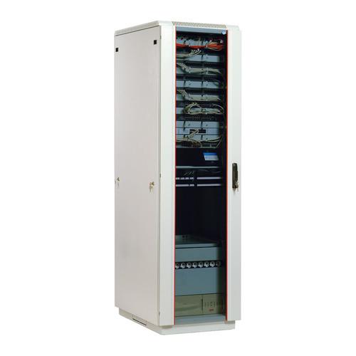 Шкаф коммутационный ЦМО (ШТК-М-33.6.8-1ААА) 33U 600x800мм пер.дв.стекл задн.дв.стал.лист 2 бок.пан.