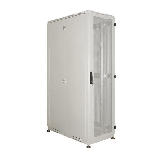 Шкаф серверный ЦМО (ШТК-С-42.6.10-44АА) 42U 600x1050мм пер.дв.перфор. 2 бок.пан. 1000кг серый шкаф коммутационный цмо штк м 42 6 8 3ааа 42u 600x800мм пер дв металл задн дв стал лист 2 бок пан