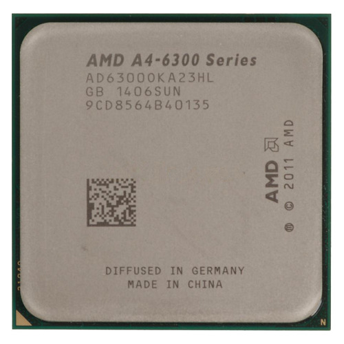 Процессор AMD A4 6300, SocketFM2 OEM [ad6300oka23hl] процессор amd a4 4000 box &lt socketfm2&gt ad4000okhlbox