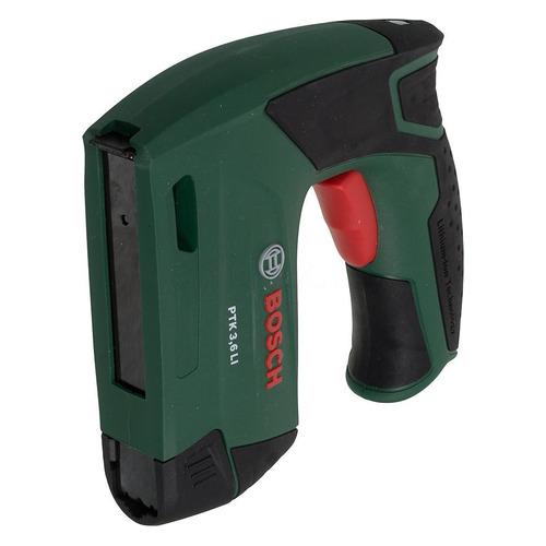 Аккумуляторный степлер BOSCH PTK 3.6 LI [0603968120] электрический степлер bosch ptk 14 edt 0603265520