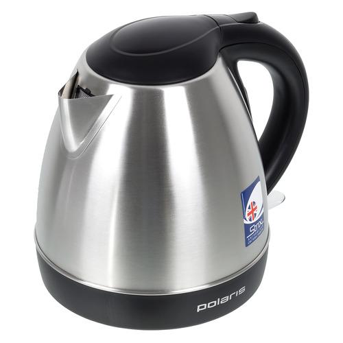 Чайник электрический POLARIS PWK 1843CA, 2100Вт, серебристый чайник электрический polaris pwk 1864ca 1800вт серебристый