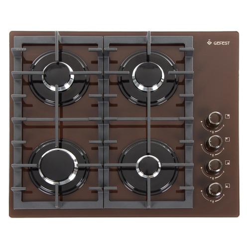 Варочная панель GEFEST СГ СВН 2230 К4, независимая, коричневый варочная панель gefest сг свн 2230 к4 независимая коричневый