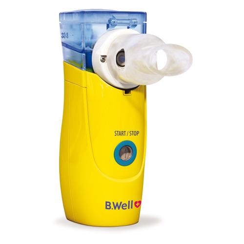 Ингалятор электронно-сетчатый (меш) B.WELL WN-114 child желтый ингалятор b well wn 114 kids