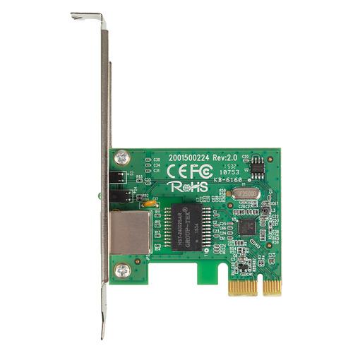 Фото - Сетевой адаптер Gigabit Ethernet TP-LINK TG-3468 PCI Express сетевой адаптер trendnet teg ecsx teg ecsx оптоволоконный многомодовый 1000base sx адаптер с интерфейсом pci express