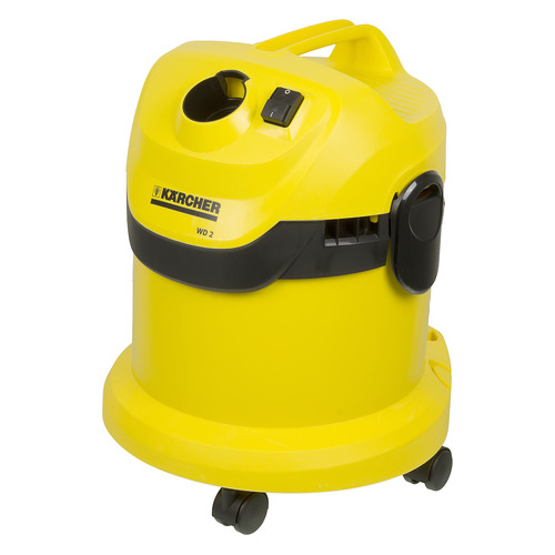 Пылесос Karcher WD2 1000Вт желтый/черный пылесос моющий karcher se4001 1400вт желтый черный