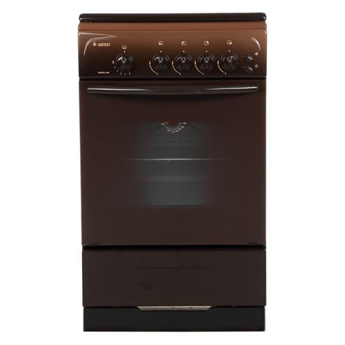 Фото - Газовая плита GEFEST ПГ 3200-06 К19, газовая духовка, коричневый газовая плита gefest 3200 08 к19