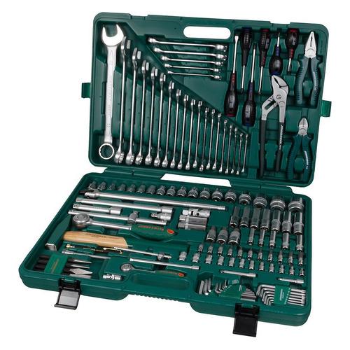 Набор инструментов JONNESWAY S04H524128S, 128 предметов [48372] ключ разводной jonnesway w27as8