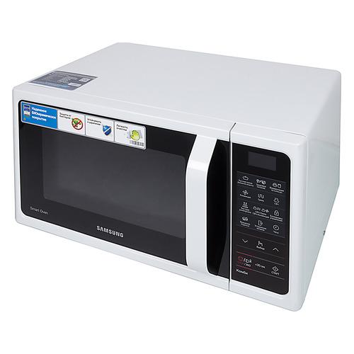 Фото - Микроволновая печь SAMSUNG MC28H5013AW/BW, 900Вт, 28л, белый микроволновая печь samsung ge 83krw 1 bw