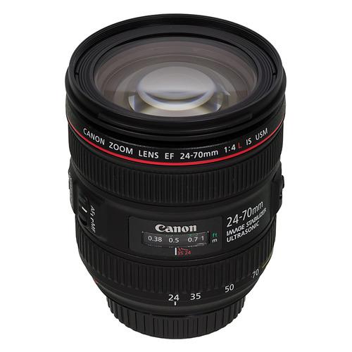 Фото - Объектив CANON 24-70mm f/4L EF IS USM, Canon EF, черный [6313b005] rekam ef c 097