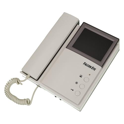 Видеодомофон FALCON EYE FE-4CHP2, белый falcon eye fe 4chp2 цветной монитор домофона