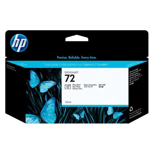 Картридж HP 72, черный [c9370a] картридж hp 72 c9384a для hp dj t1100 t610 черный матовый желтый