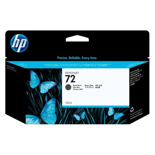 Картридж HP 72, черный матовый [c9403a] картридж hp 72 c9384a для hp dj t1100 t610 черный матовый желтый