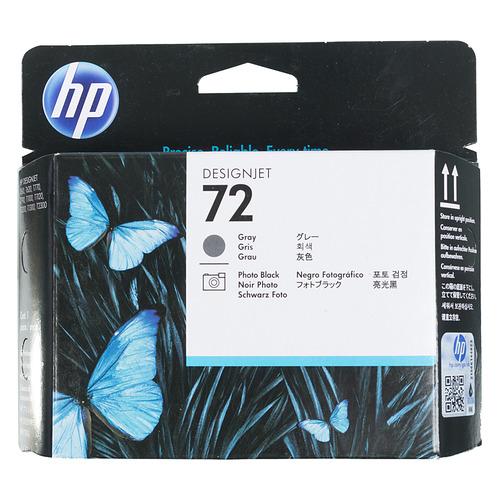 Печатающая головка HP 72 C9380A фото черный/серый для HP DJ T1100/T610 hp 15 da0149ur серый