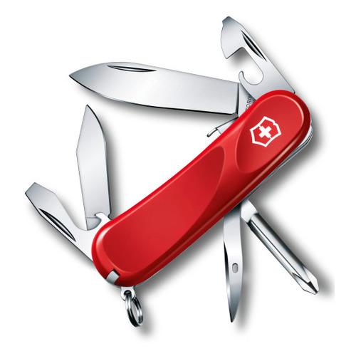 Складной нож VICTORINOX Evolution S111, 12 функций, 85мм, красный
