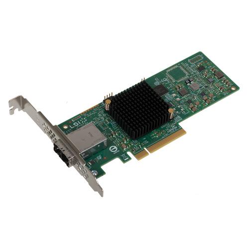 Фото - Контроллер LSI 9300-8E SGL 12Gb/s HBA 8e-ports (LSI00343 / H5-25460-00) контроллер hpe h241 smart hba