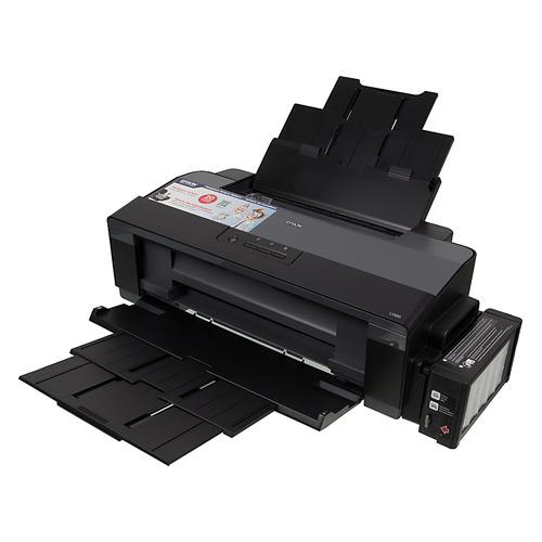 Фото - Принтер струйный EPSON L1300, черный [c11cd81402 ] струйный катридж для da vinci color 40ml жёлтый