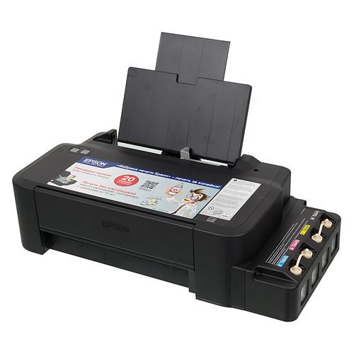 Принтер струйный EPSON L120, струйный, цвет: черный [c11cd76302] цена 2017