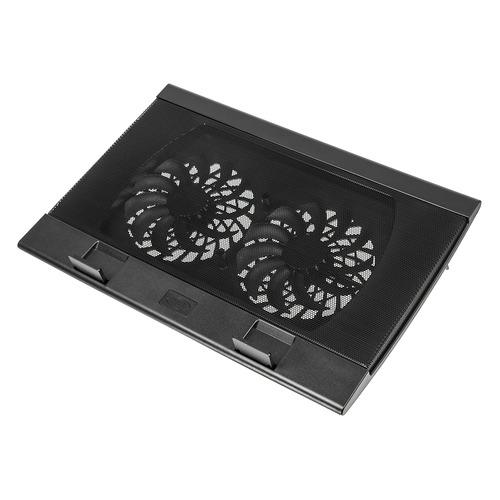 Фото - Подставка для ноутбука Deepcool WIND PAL (WINDPAL) 17382x262x24мм 27дБ 4xUSB 2x 140ммFAN 793г черны подставка для ноутбука deepcool u pal u pal 15 6 черная