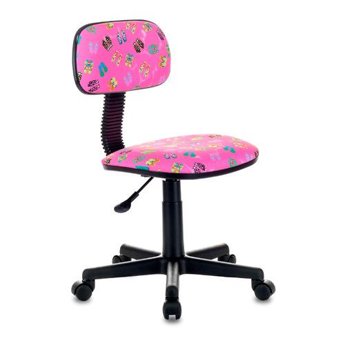 Кресло детское БЮРОКРАТ CH-201NX, на колесиках, ткань, розовый [ch-201nx/flipflop_p] бюрократ ch 201nx grland