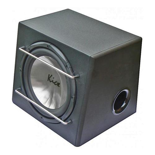 Сабвуфер автомобильный KICX ICQ 301BPA, активный, 550Вт [2013006]  - купить со скидкой