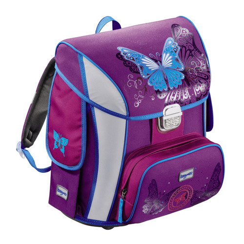 цена на Ранец Step By Step BaggyMax Simy Butterfly фиолетовый/рисунок Бабочки