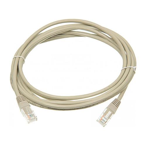 Патч-корд Lanmaster (TWT-45-45-3.0/6-GY) вилка RJ-45-вилка RJ-45 кат.6 3м серый ПВХ (уп.:1шт) кабель патч корд lanmaster вилка rj 45 вилка rj 45 кат 5е пвх 0 3м серый [twt 45 45 0 3 gy]