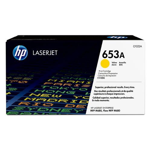 Картридж HP 653A, желтый [cf322a]