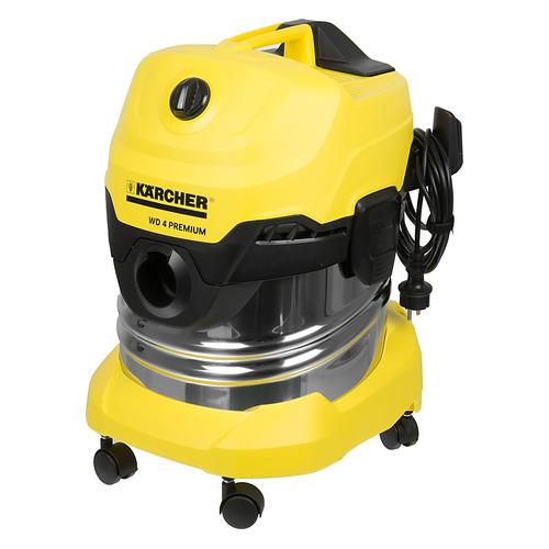 Строительный пылесос KARCHER WD4 Premium желтый [1.348-150.0]