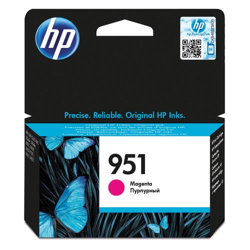 Картридж HP 951, пурпурный [cn051ae] цена 2017