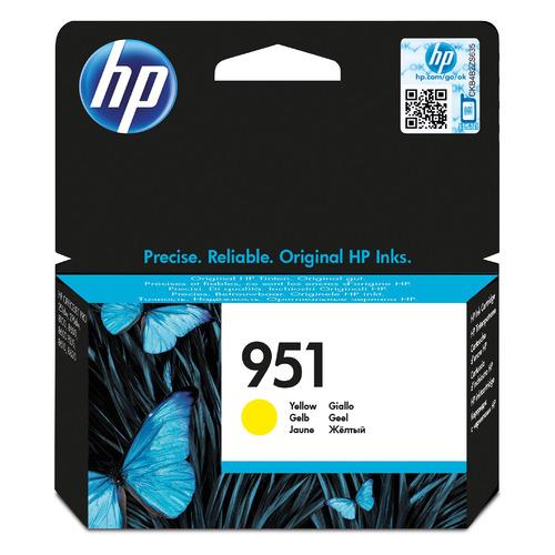 Картридж HP 951, желтый / CN052AE