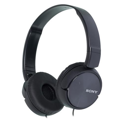 Гарнитура Sony MDR-ZX310AP, 3.5 мм, накладные, черный [mdrzx310apb.ce7] наушники sony mdr zx310ap черный