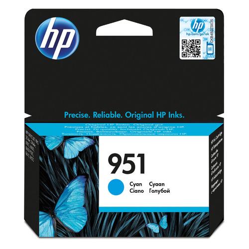 Картридж HP 951, голубой [cn050ae] цена 2017